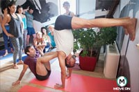 Iyengar Yoga with David Meloni September 2015