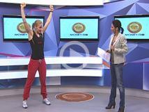 Exerciţii la birou cu Andreea Pavel